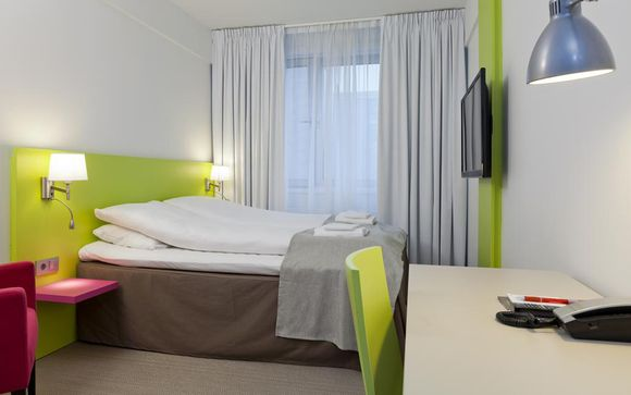 2 or 3 nights at the Thon Hotel Munch Oslo 3*