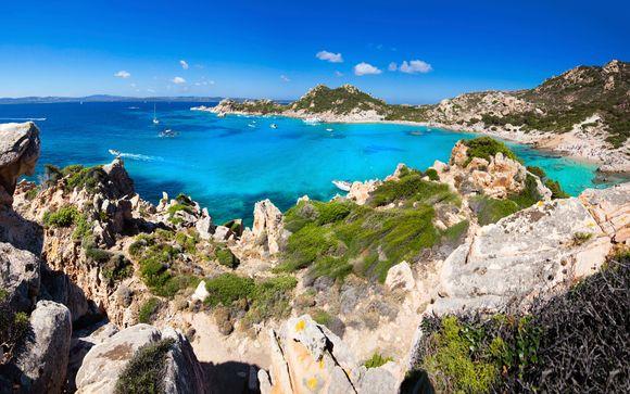 Quiet Break on the Beautiful Sardinian Seaside