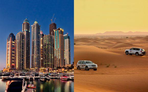 Carlton Downtown Hotel 4* with Dubai City, Sea & Desert Excursions