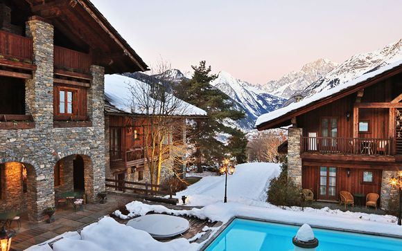 Luxury Aosta Valley Hotel with Delightful Spa