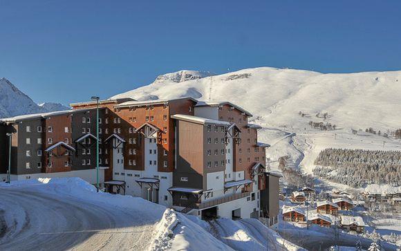 Stylish Hotel in Two Alps Resort