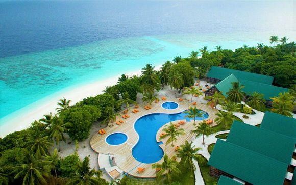 Villa Bliss in the Indian Ocean