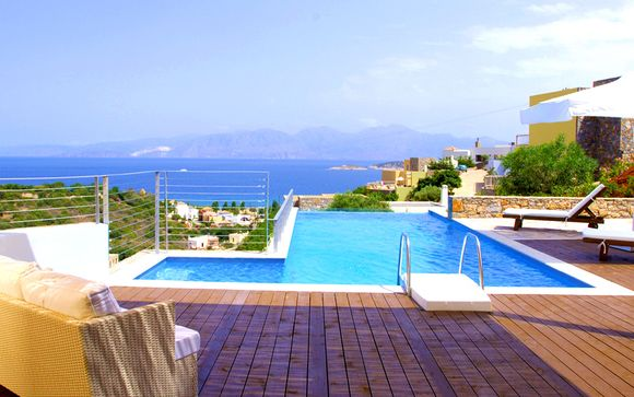 Luxury Collection: Private Pool Villas Overlooking Mirabello Bay