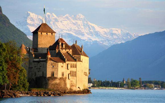 Panoramic Views of Lake Geneva