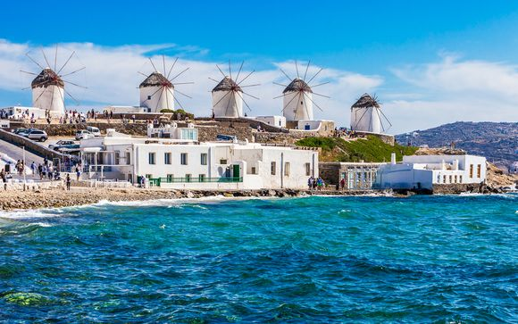 Boutique Getaway Overlooking the Aegean Sea