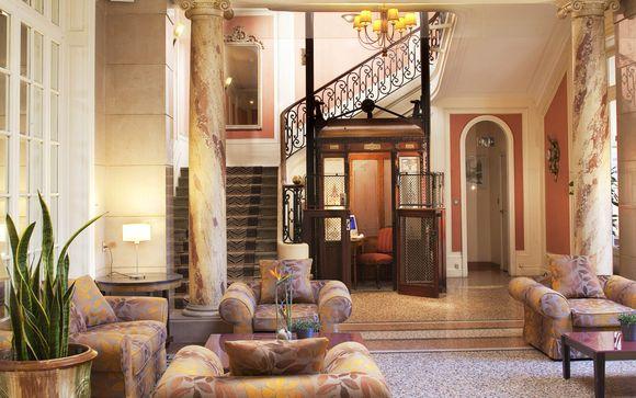 Hotel Oceania Le Metropole Montpellier 4*