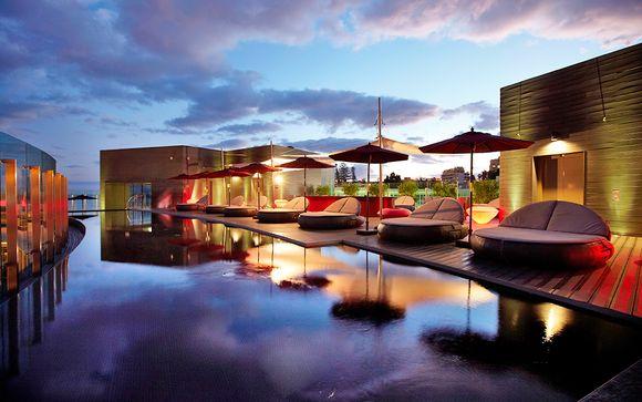Rooftop Pool at Award-Winning Design Hotel
