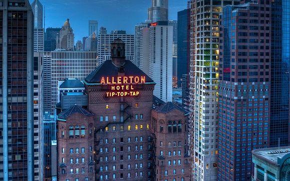 Warwick Allerton, Chicago - 3 nights