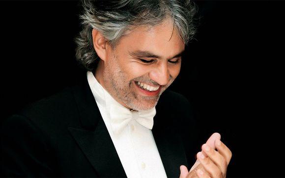 Park Hotel le Fonti 4* & Andrea Bocelli Concert