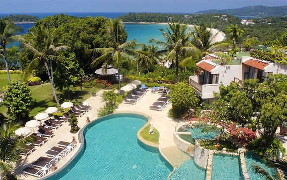 Hillside Hotel Overlooking Kata Beach