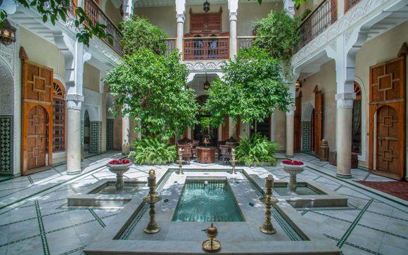 Relaxing Riad 10 Minutes from Jemaa el-Fnaa