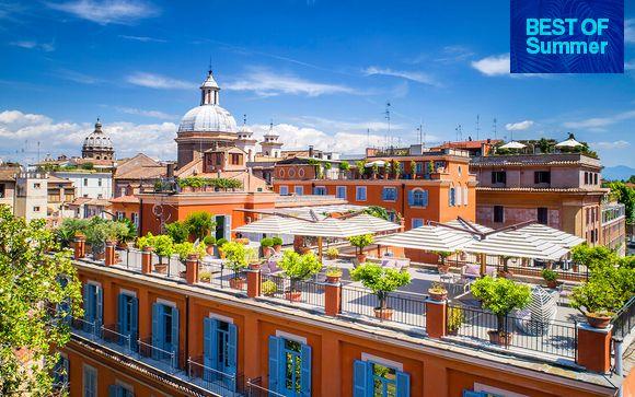 Romantic Escape with St. Peter's Basilica Views