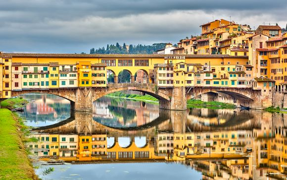 Elegance near the Banks of the River Arno