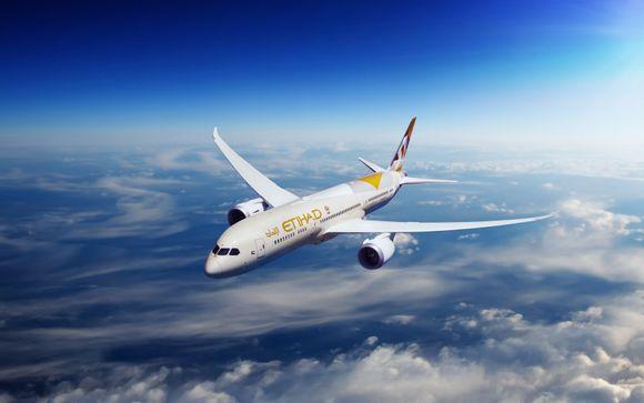Fly with Etihad Airways