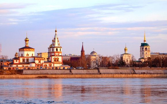 Your Itinerary: From Moscow (14 Nights)