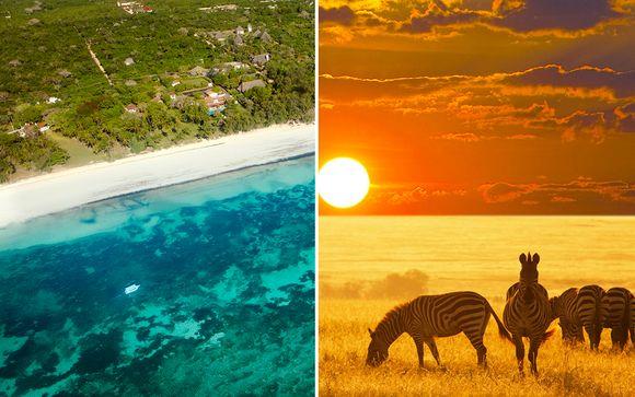 Tsavo Taita Safari & Diani Sea Resort 4*