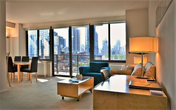 Sky High Suite on the Upper East Side