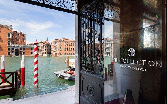 Palatial Property overlooking the Grand Canal