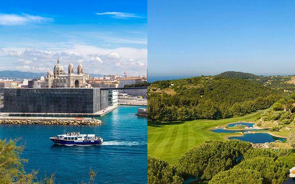 Dolce Fregate Provence 4* & Golden Tulip Marseille Euromed 4*