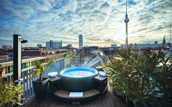 Sleek Design Hotel in Berlin-Mitte