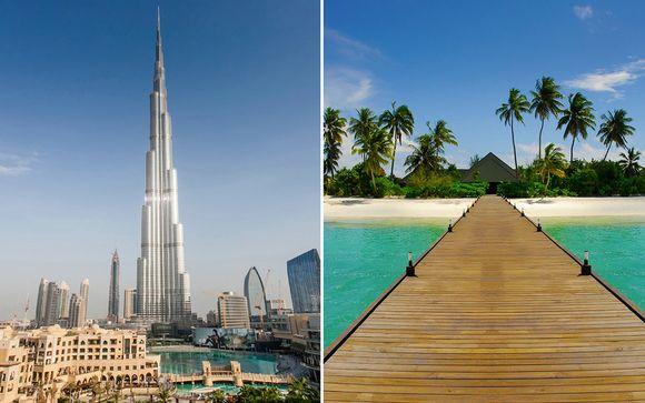 Dazzling Dubai and Indian Ocean Villa