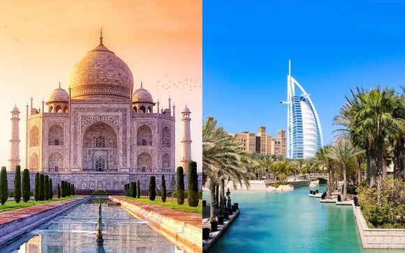 Indian Golden Triangle and Dubai Stay