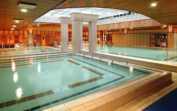 Thermal Spa and Beautiful Views of the Danube