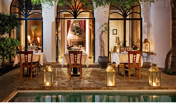 Elegant Riad With Pool Near Jemaa el-Fnaa Square