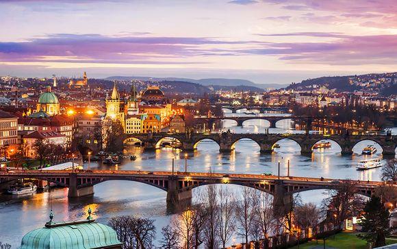 Poussez les portes de votre hôtel Occidental Praha 4*