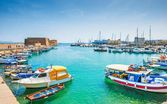 Heraklion, en Creta, te espera