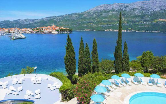 Panorami da sogno in 4* su un'isola della Dalmazia