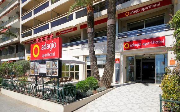 Aparthotel Adagio Nice Promenade des Anglais 4*