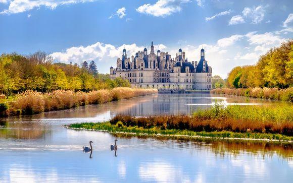Fuga di charme nella regione dei castelli con degustazione di vini