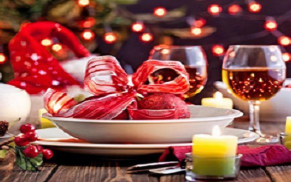 Cenone della vigilia di Natale e di Capodanno inclusi