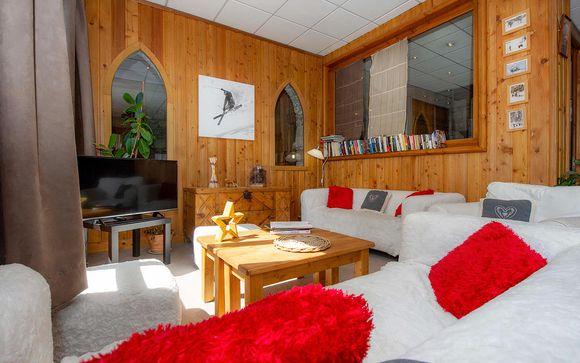 Poussez les portes de votre résidence Alpina Lodge 4*
