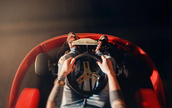 Votre séance de karting en option