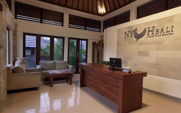 Poussez les portes du Nyuh Bali Luxury Villas Seminyak 5*