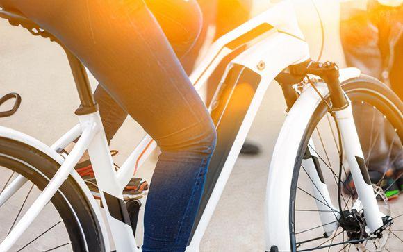 Uw inbegrepen fietsverhuur voor een halve dag