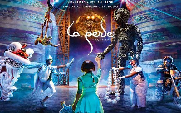 Spectacle La Perle (2 tickets inclus pour tout séjour de 4 nuits minimum)