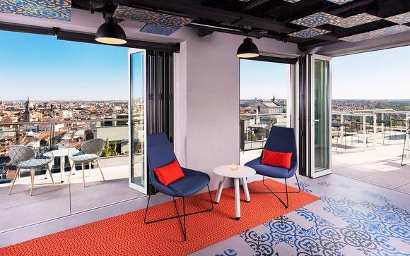 Vista panoramica con stile moderno