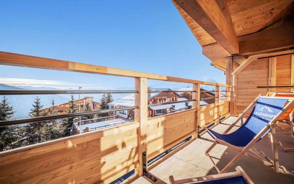 In residenza di lusso ai piedi delle piste da sci