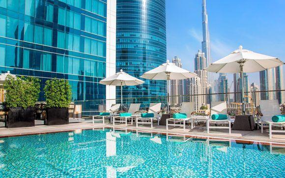 Expo Universale dal 1 ottobre: lusso intimo e cosmopolita con un'impressionante vista sullo skyline