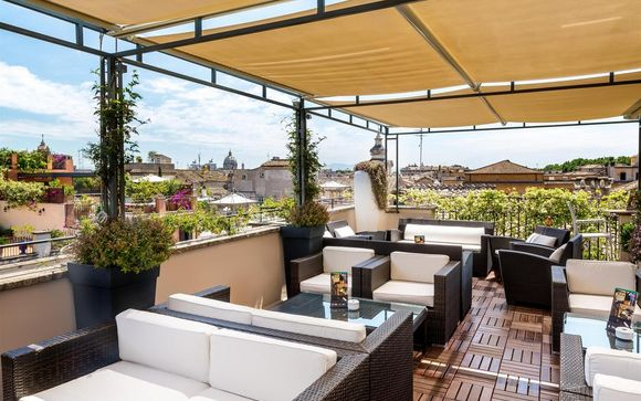 L'Hotel Indigo Rome - St. George 5*