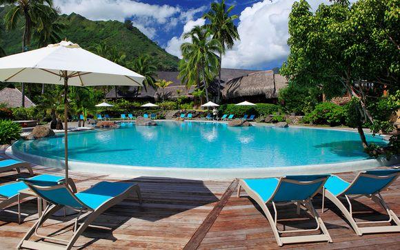 Poussez les portes du Hilton Moorea Lagoon Resort & Spa 5*
