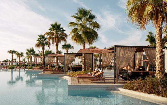 Lusso e spiaggia privata sull'isola iconica di Bluewaters