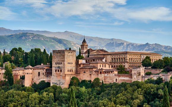 4* dalle atmosfere andaluse nel centro di Granada