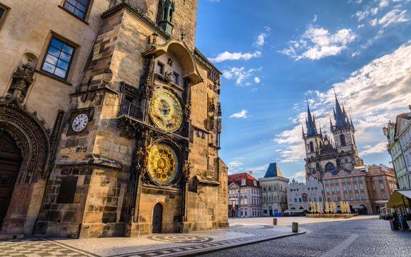 Camera Deluxe vista castello con pranzo nella Città Vecchia incluso