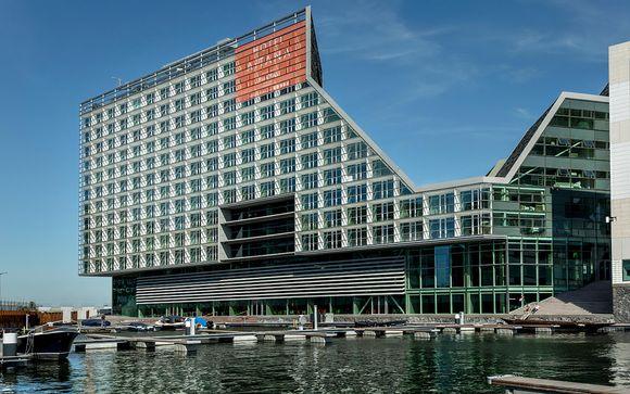 Hotel di design 4* con vista sui canali della città