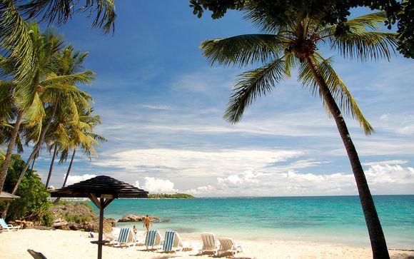 Vacanze ai Caraibi tra acque turchesi e giardini tropicali