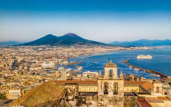 Storia e cultura in appartamenti con vista sul Vesuvio